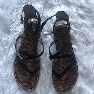 Sam Edelman black sandals size 9.5